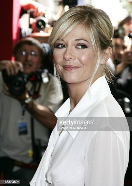 Tf1 Press Conference At The Olympia In Paris France On August 29 2007 Flavie Flament