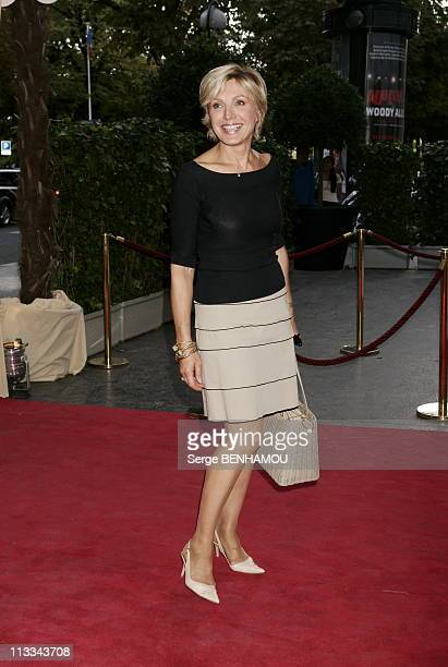 Tf1 Press Conference At The Theatre Des ChampsElysees In Paris On September 5Th 2006 In Paris France Here Evelyne Dheliat