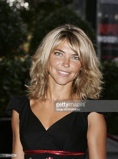 Tf1 Press Conference At The Theatre Des ChampsElysees In Paris On September 5Th 2006 In Paris France Here Nathalie Vincent