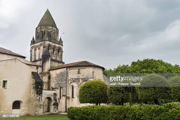 Tha abbatial Church of the Abbey of Sainte-Marie-des-Dames in Saintes, France