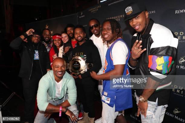 Tha Kraken Rap920 Tay Svpreme Big Tigger Rebe Espinosa Taco Manning Zaytoven Theo Brown ProdigE and Severe Jones attend The Remy Martin Producers...