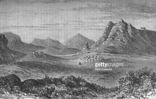 Thaba Bosigo the Stronghold of the Basutos' circa 1880 Episode of the Xhosa Wars from 1779 to 1879 in South Africa From British Battles on Land and...