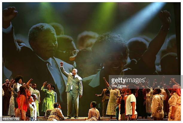 Thabang Senekal during Madiba The African Opera at the State Theatre on May 22 2014 in Pretoria South Africa The opera focuses on Nelson Mandelas...