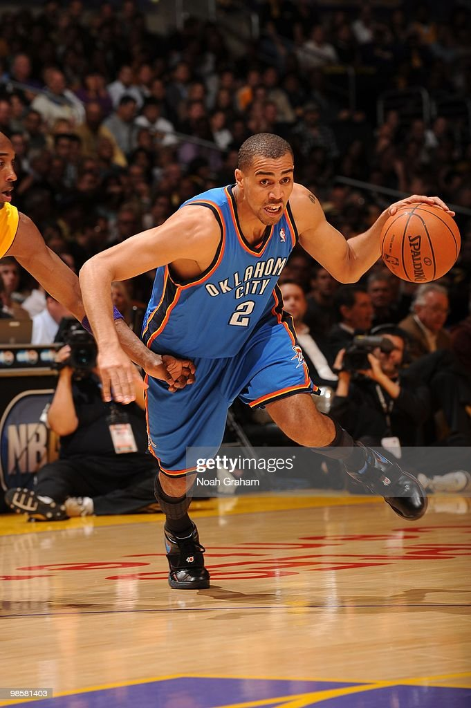Oklahoma City Thunder v Los Angeles Lakers, Game 2
