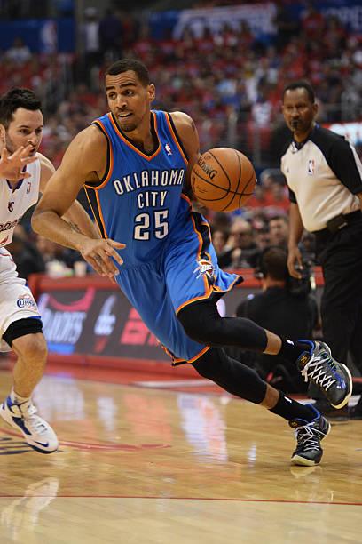 Thabo Sefolosha of the Oklahoma City Thunder