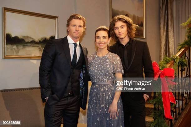 Thad Luckinbill Amelia Heinle and Tristan Lake Leabu Don't miss the excitement of Victor and Nikki's vow renewals on THE YOUNG AND THE RESTLESS...