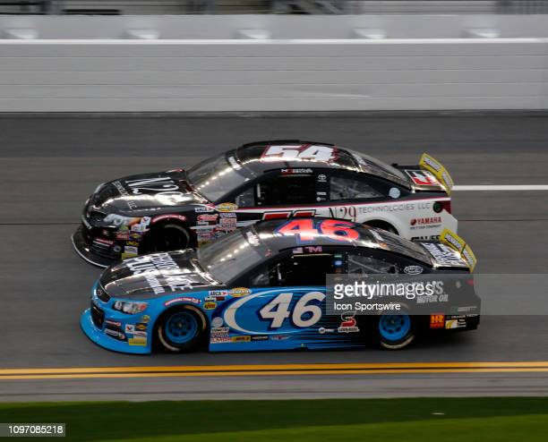 Thad Moffit Performance Plus Oil Chevrolet during the running of the Lucas Oil 200 on February 9 2019 at Daytona International Speedway in Daytona...