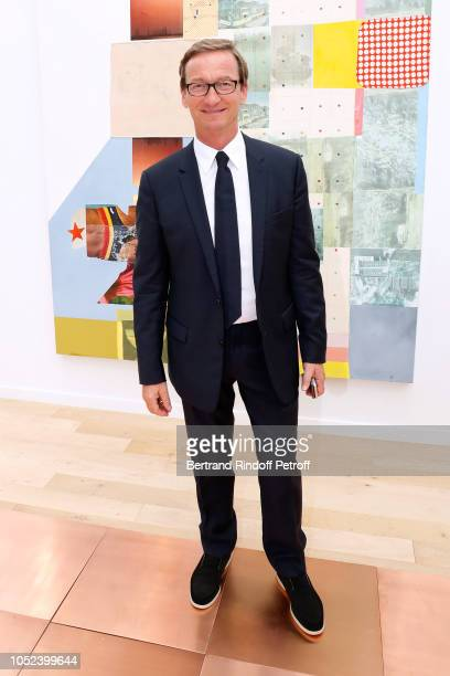 Thaddaeus Ropac attends the FIAC 2018 International Contemporary Art Fair Press Preview at Grand Palais on October 17 2018 in Paris France