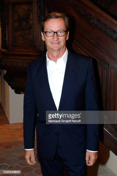 Thaddaeus Ropac attends the Kering Heritage Days Opening Night at 40 Rue de Sevres on September 14 2018 in Paris France
