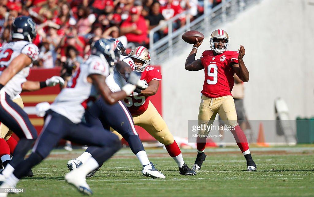 Houston Texans v San Francisco 49ers