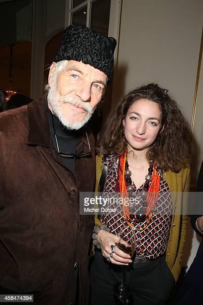 Thadée Klossowski de Rola and Anna Klossowski de Rola attend the 'Loulou de la Falaise' book signing on November 5 2014 in Paris France