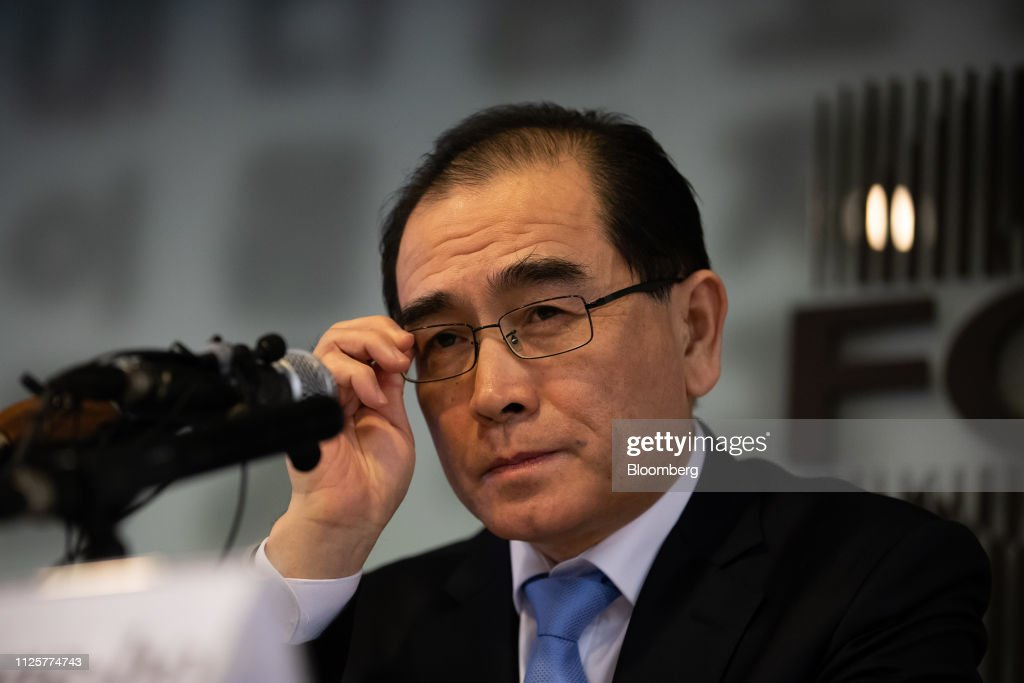 KOR: Former North Korea Deputy Ambassador to UK Thae Yong-ho Speaks