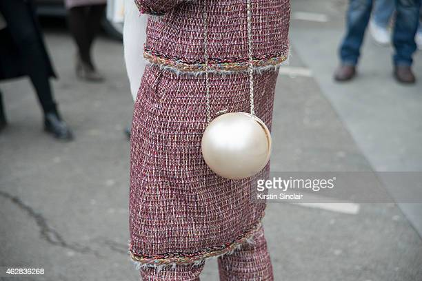 Thai Actress Araya Hargate wears all Chanel on day 3 of Paris Haute Couture Fashion Week Spring/Summer 2015, on January 27, 2015 in Paris, France.