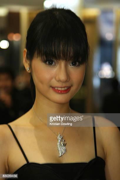 Thai actress Best attends the Golden Kinnaree Awards 2008 at the Aksra Theatre as part of the Bangkok International Film Festival 2008 on September...