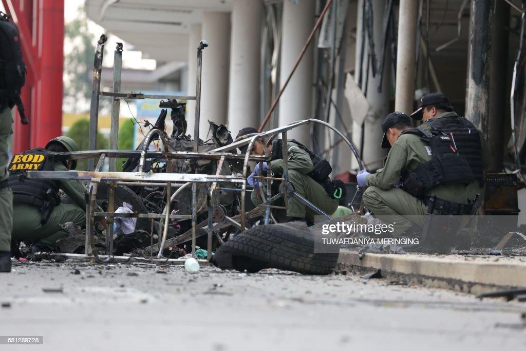 CORRECTION-THAILAND-SOUTH-UNREST : Foto jornalística