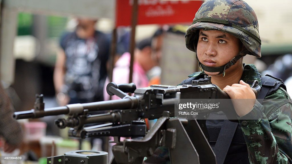 Martial Law Imposed Across Thailand As Political Conflict Continues : News Photo