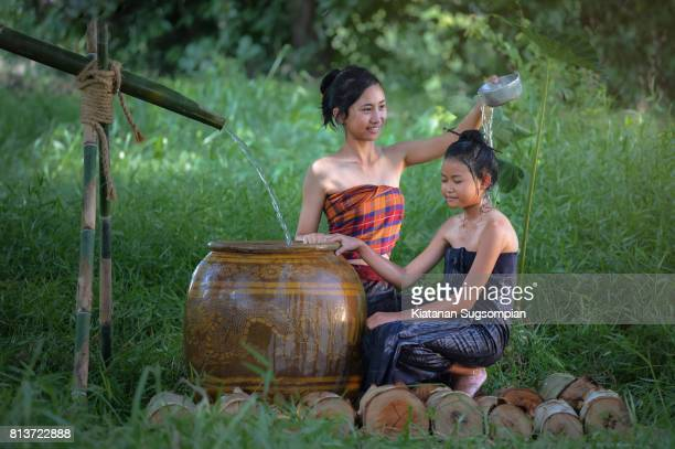 Thai bathing