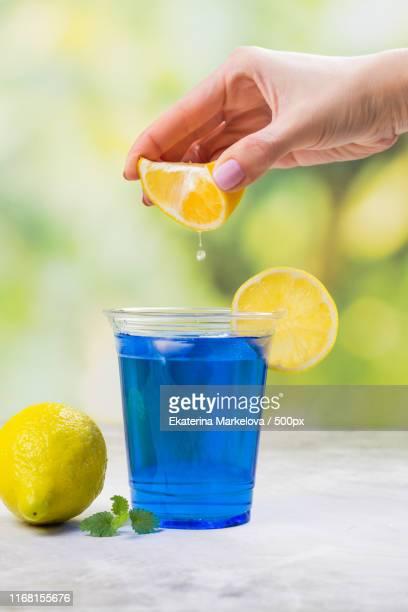 thai blue anchan tea - clitoria bildbanksfoton och bilder
