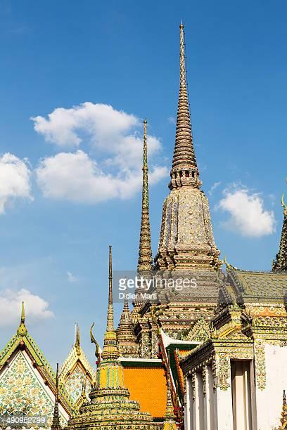 Thai Buddhist temple in Bangkok Thailand