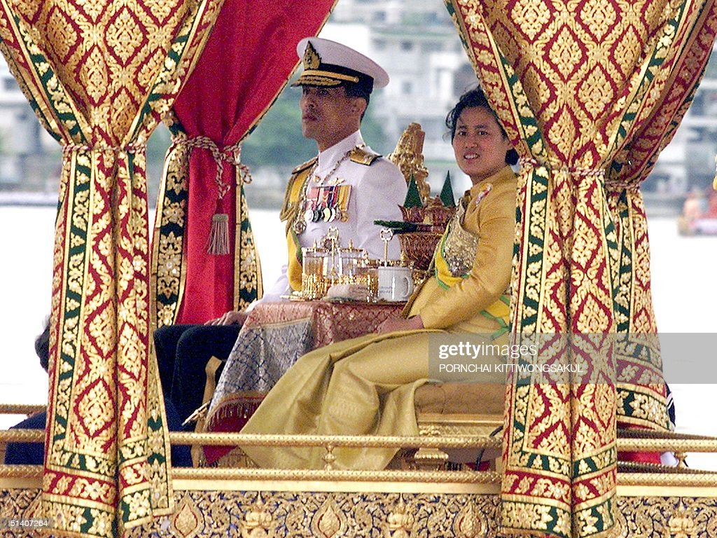 Thai Crown Prince Maha Vajiralongkorn(L) and Princ : News Photo