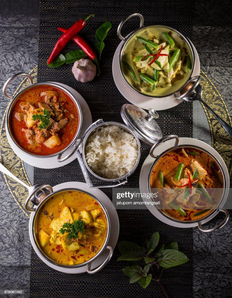 Thai Cuisine Set : Stock-Foto