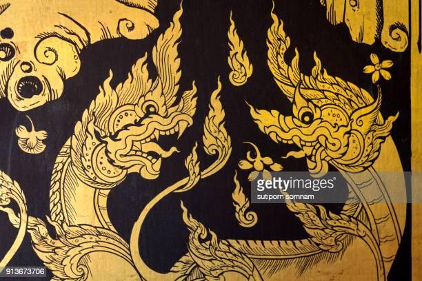 Thai Culture NAKA pattern