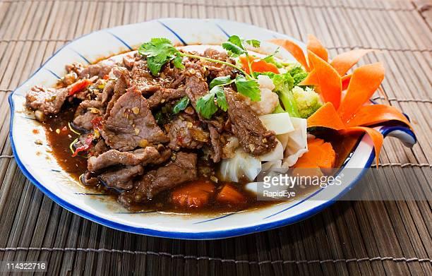Wütend Thai-curry mit Rindfleisch