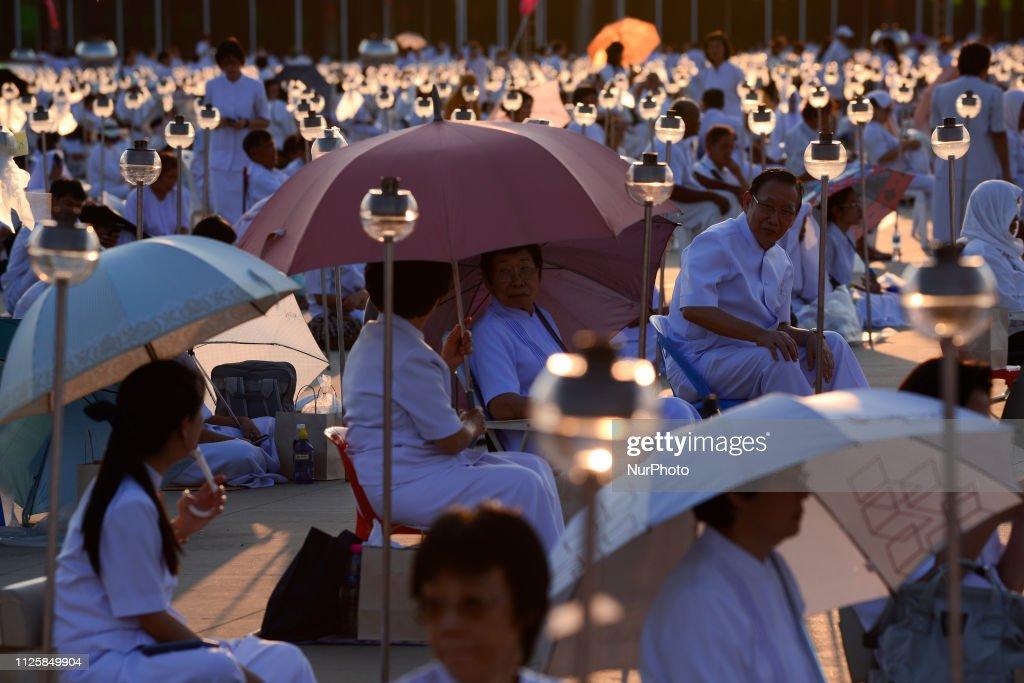 THA: Makha Bucha Day Ceremony In Thailand