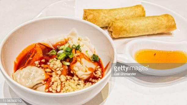 Thai Dumplings and Spring Rolls