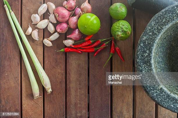 thai food ingredient