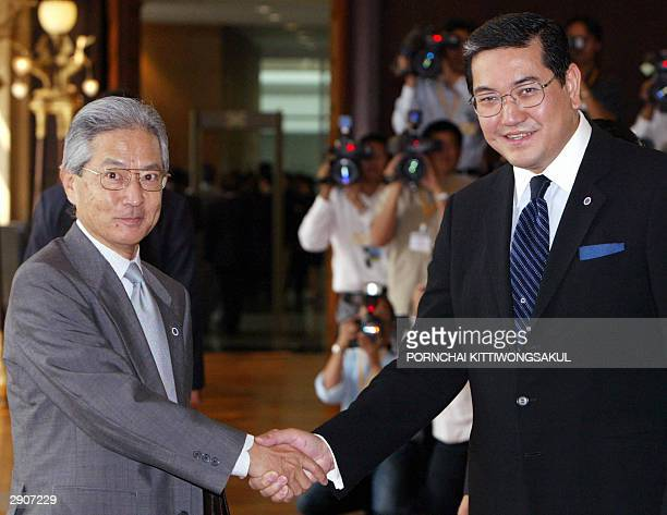 Thai Foreign Minister Surakiart Sathirathai welcomes Japanese Director of Infectious Disease Information Office Tuberculosis and Infectious Disease...
