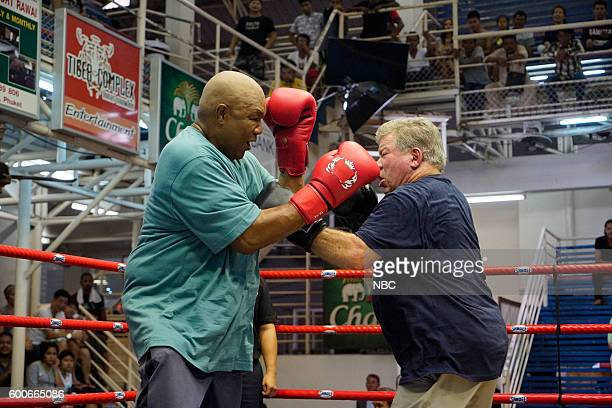 NEVER 'A Thai Goodbye' Episode 10506 Pictured George Foreman William Shatner