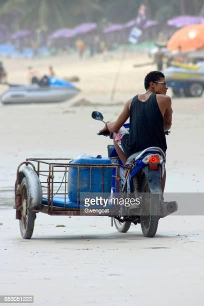 Thai guy in Patong beach