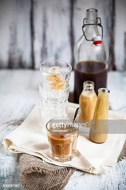 Thai iced tea with black ceylon tea and sweet condensed milk