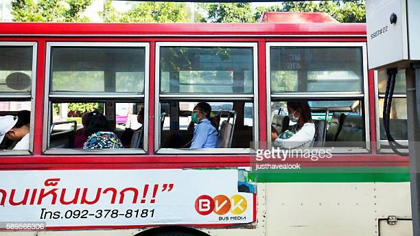 Thai in bus