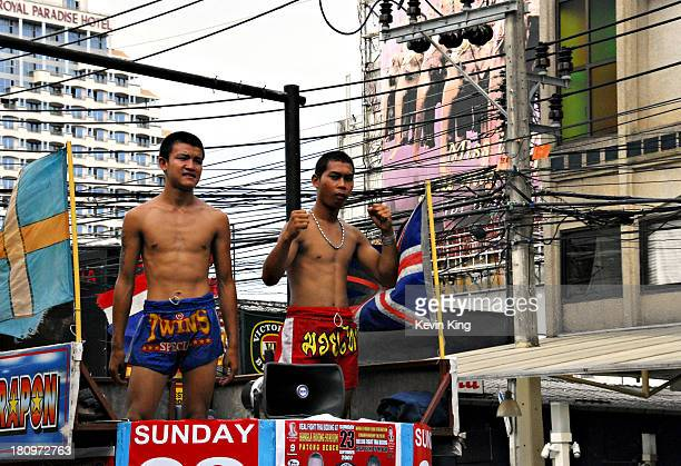 Thai kickboxing is a very popular spectator sport through Thailand, and is a prime method of young men supporting themselves while they remain in...