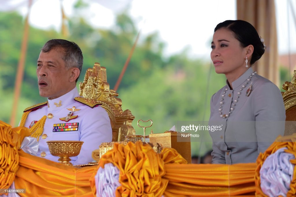 Royal Ploughing Ceremony Thailand : News Photo