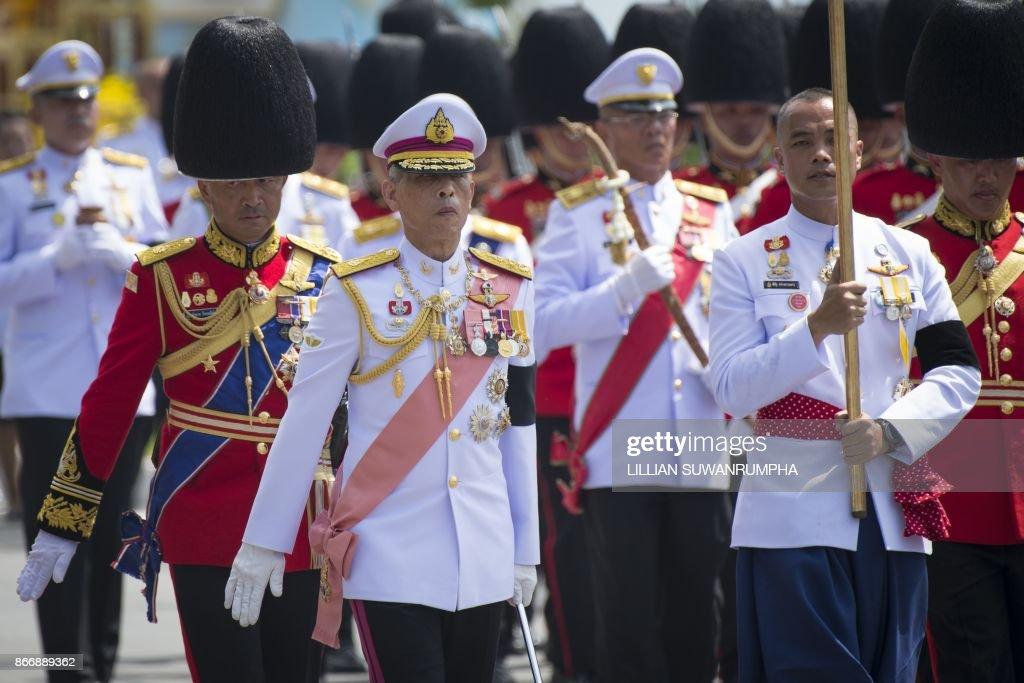 THAILAND-ROYALS-CREMATION : News Photo