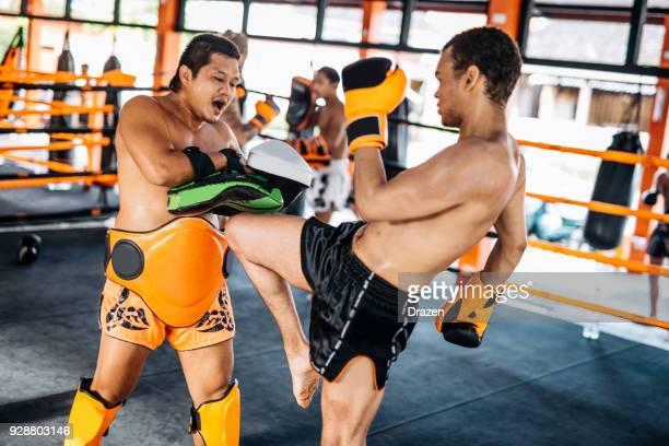 Arts martiaux Thaïs de Muay Thai camp