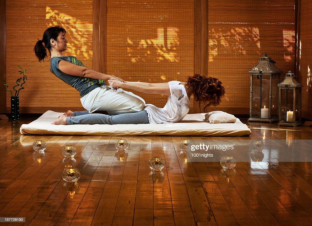 Thai massage : Stock Photo
