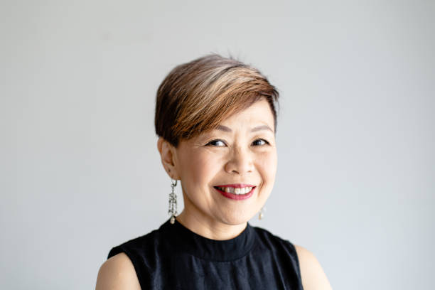 Thai middle-aged businesswoman
