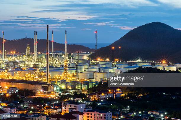 CONTENT] Thai oil refinery is located in Laemchabang industrial area