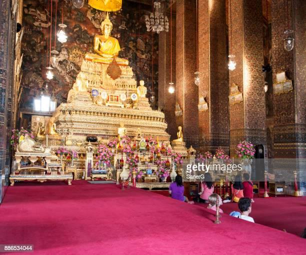 Tailandés gente orando