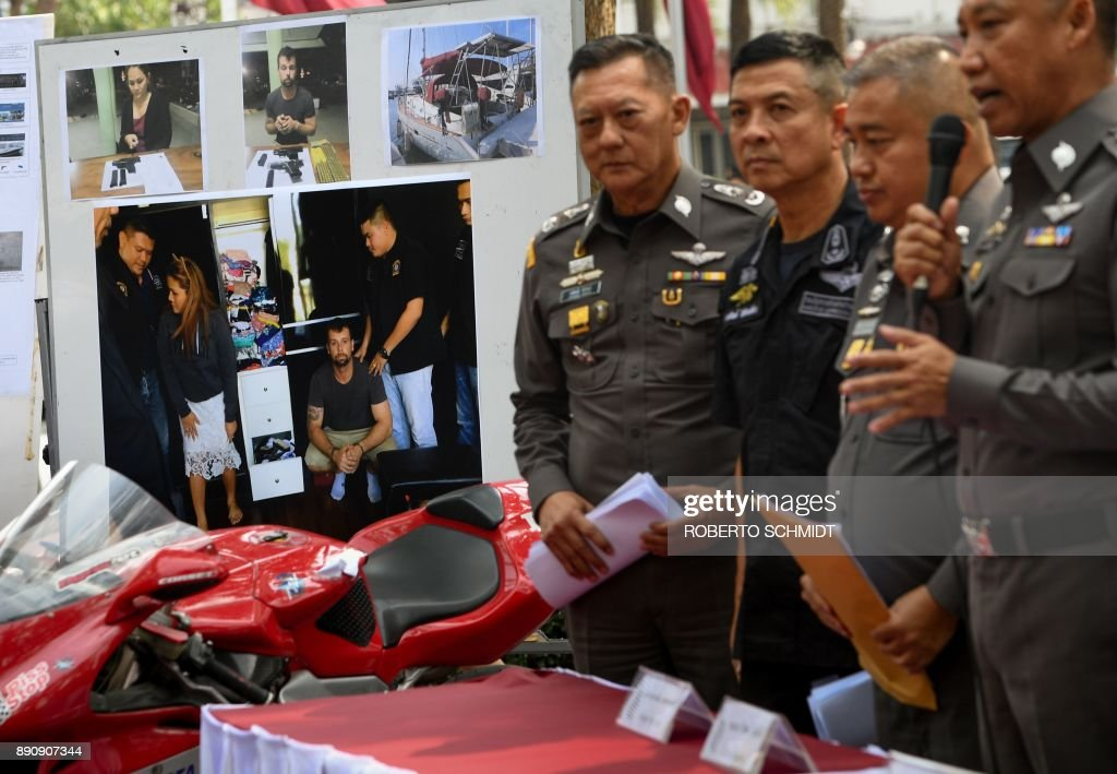 Thai cops arrest Australian in crackdown on 'Hells Angels'