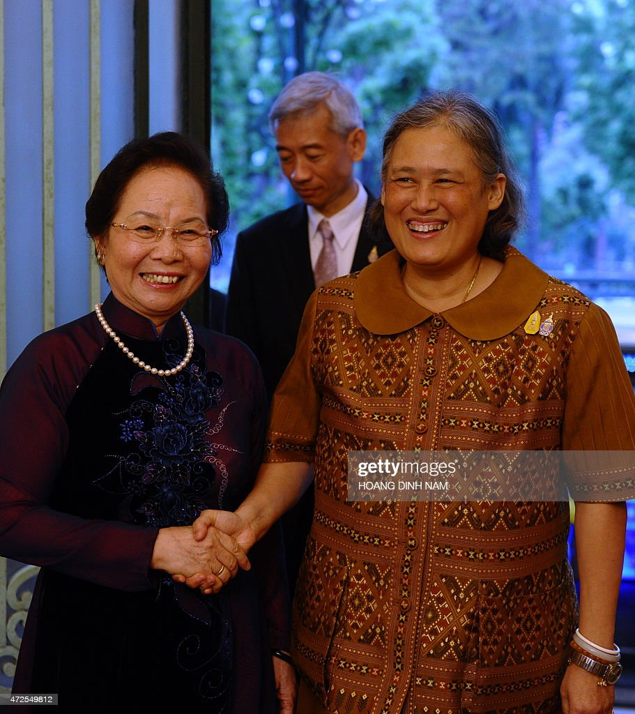 VIETNAM-THAILAND-ROYALS-DIPLOMACY : News Photo