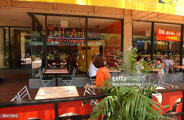 Thai restaurant which missing Washington intern Chandra Levy reportedly frequented.