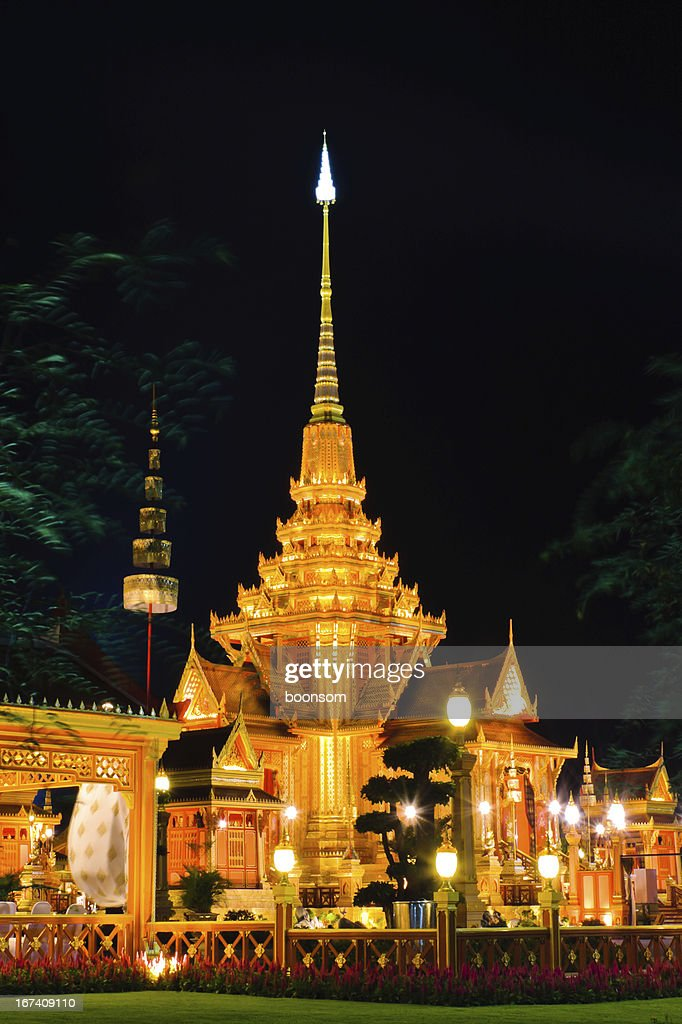 "Thai-Royal ""Crematorium"" : Stock-Foto"