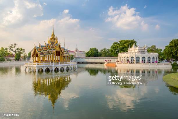Thai Royal Residence at Bang Pa-In Royal Palace in Ayutthaya, Thailand.