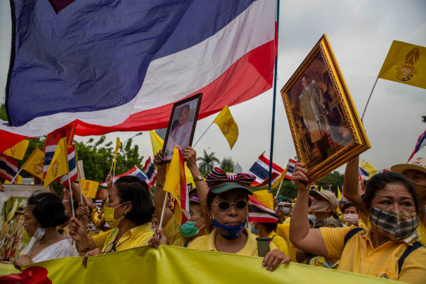 THA: Thai Royalists Stage Protest In Bangkok