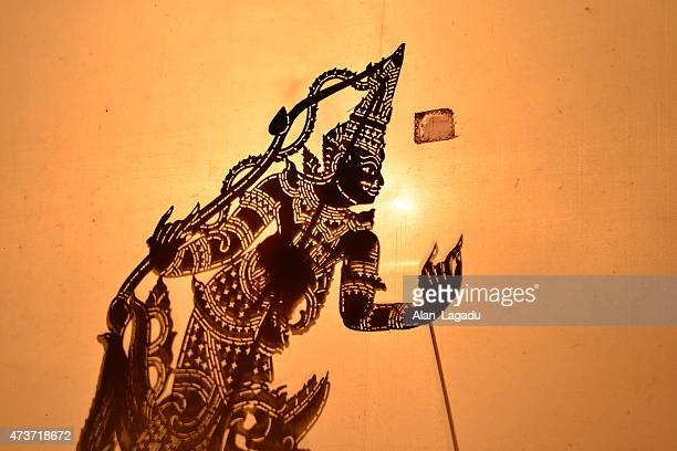 Thai shadow puppet theatre.